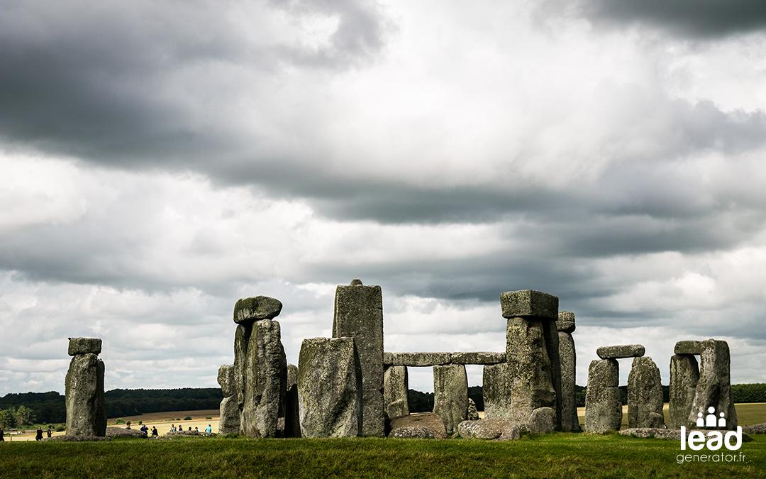 Photo du stonehenge en angleterre